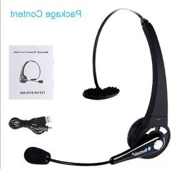 Wireless Bluetooth Trucker Noise Cancelling Headset Over Hea