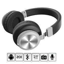Wireless Bluetooth V5.0 Headphone Over the Ear Headset Stere