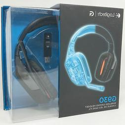 cd68db684a5 Logitech Wireless Gaming Headset G930 7.1 Surround Sound Hea