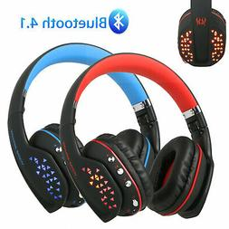 Wireless Gaming Headset Headphone Noise Reduction w/Mic for
