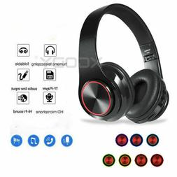 Wireless Headphones Stereo Bluetooth Headset Noise Cancellin