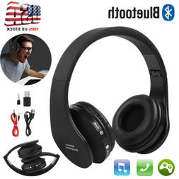 Wireless Headset Bluetooth Gaming Headphone with Mic for PS4