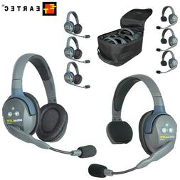 Eartec Wireless Headsets UltraLITE UL series Single Double S