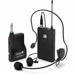 Wireless Microphone System,Fifine Wireless Microphone set wi