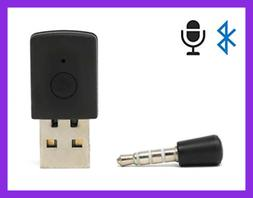 Wireless Mini Microphone Bluetooth Dongle USB Adapter For PS