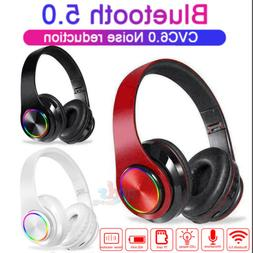 Wireless Over-ear Gaming Headset Stereo Headphone For PS4/Ni