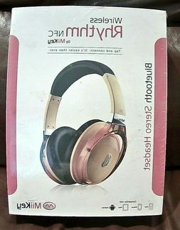 wireless rhythm nfc bluthooth stereo headset by