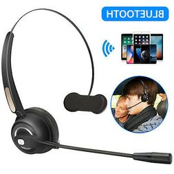 Wireless Stereo Bluetooth Headsets Headphone With Boom Mic F