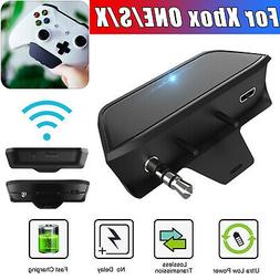 Wireless Stereo Headset Adapter Converter For Mic XBOX ONE/X